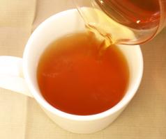 ウラジロガシ茶の出来上がり
