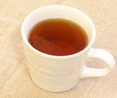 シジュウム茶の出来上がり