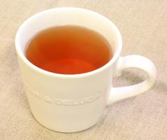 枇杷葉茶の出来上がり