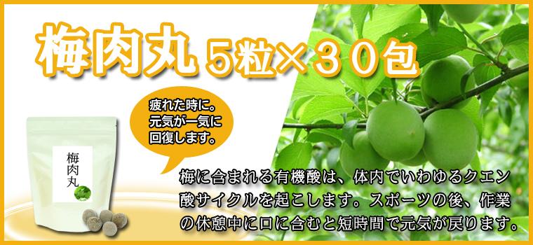 梅肉丸5粒×30包