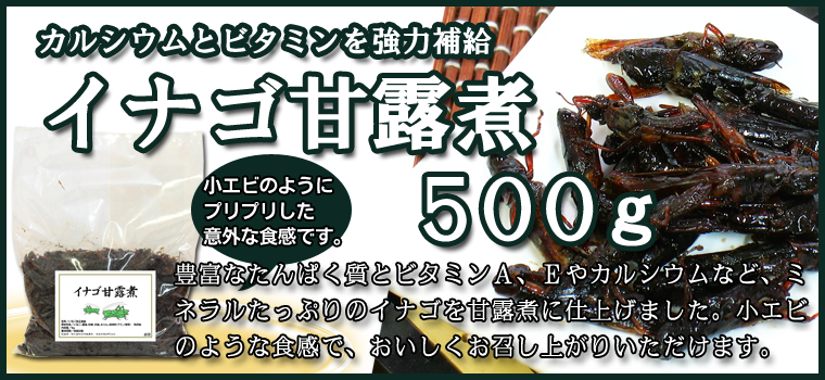 イナゴ甘露煮500g