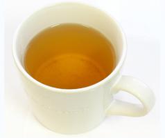 サフラン茶の出来上がり