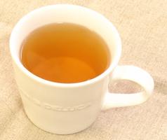 柿の葉茶の出来上がり