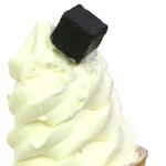 ソフトクリームに
