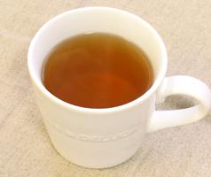 タラノキ茶の出来上がり