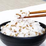 白米と炊飯して