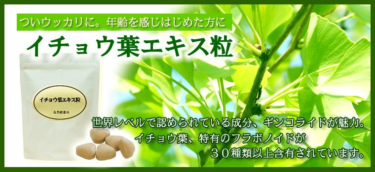 イチョウ葉エキス粒・徳用210g