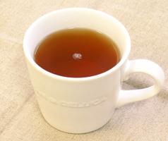 甜茶の出来上がり
