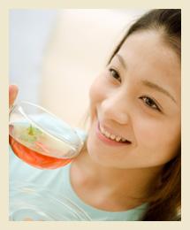 タラノキ茶で健康に