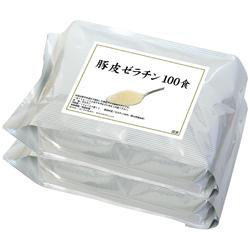 豚皮ゼラチン100食